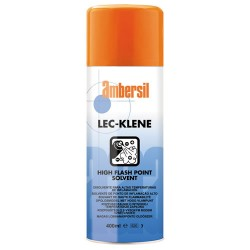 DISOLVENTE LIMPIADOR NO INFLAMABLE LEC-KLENE 400ML AMBERSIL 31557