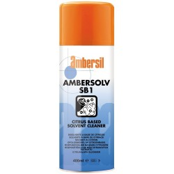 LIMPIADOR DISOLVENTE ACEITES CITRICOS AMBERSOLV SB1 400ML AMBERSIL 31598