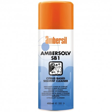 LIMPIADOR DISOLVENTE ACEITES CITRICOS AMBERSOLV SB1 5L AMBERSIL 31785