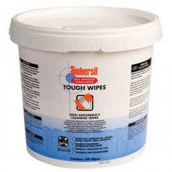 TOALLITAS LIMPIADORAS DE MANOS TOUGH WIPES 30 UDS AMBERSIL 30766