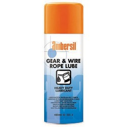 LUBRICANTE DE ENGRANAJES Y CABLES AMBERSIL GEAR&WIRE ROPE LUBE 400ML