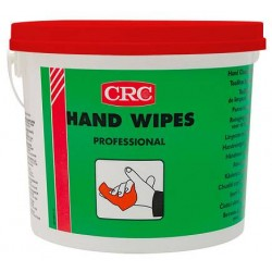 TOALLITAS LAVAMANOS PROFESIONAL CRC HAND WIPES PROFESSIONAL 50 UDS